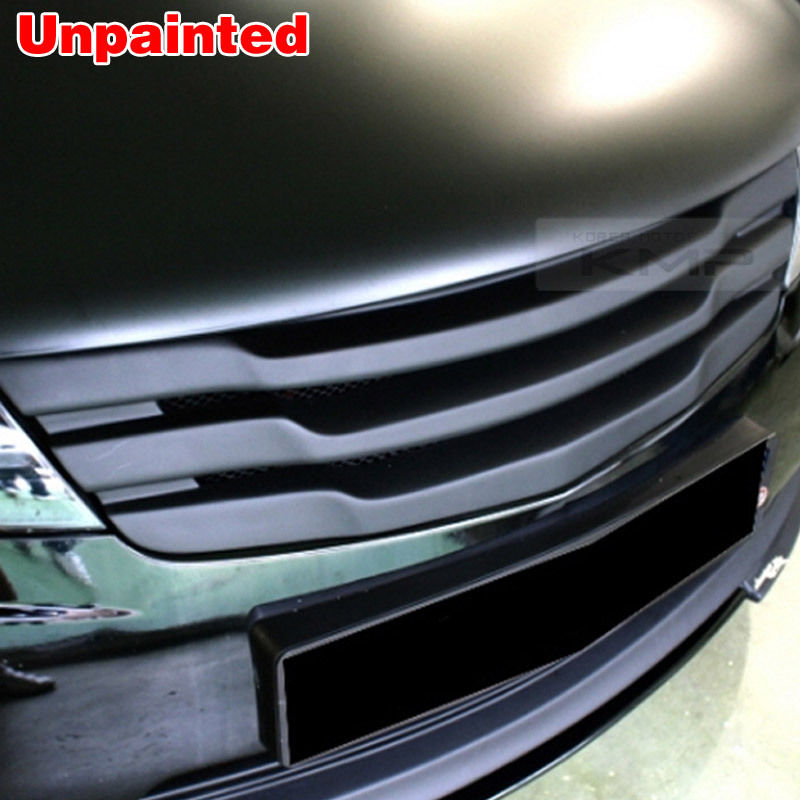Front Sport Hood Radiator Grill Unpainted For Kia 2009 2011 Cerato Forte Koup