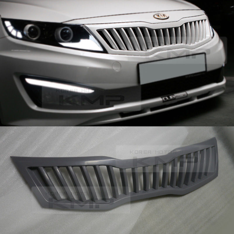 Front Hood Radiator Grill Unpainted For Kia 2011 2015 Optima K5