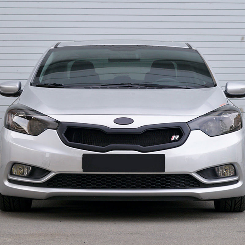 front hood radiator grill [painted] for kia 2013-2015 cerato / forte / k3  kmp trade