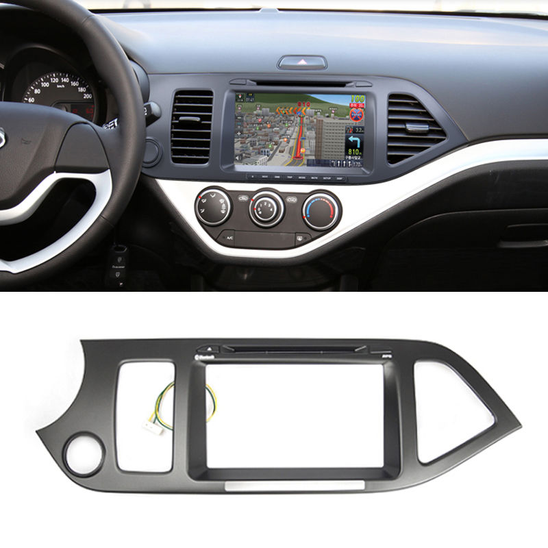 Gps Dash Center Fascia Integrated Audio For Kia 2013 2014
