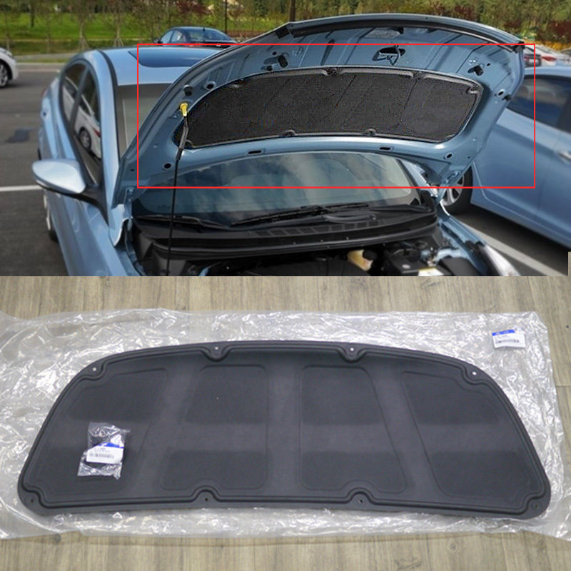 Oem Genuine Parts Bonnet Hood Insulator Pad For Hyundai