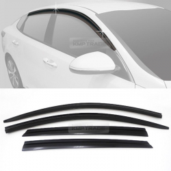 Out-Channel Vent Shade Window Visors Rain Guards
