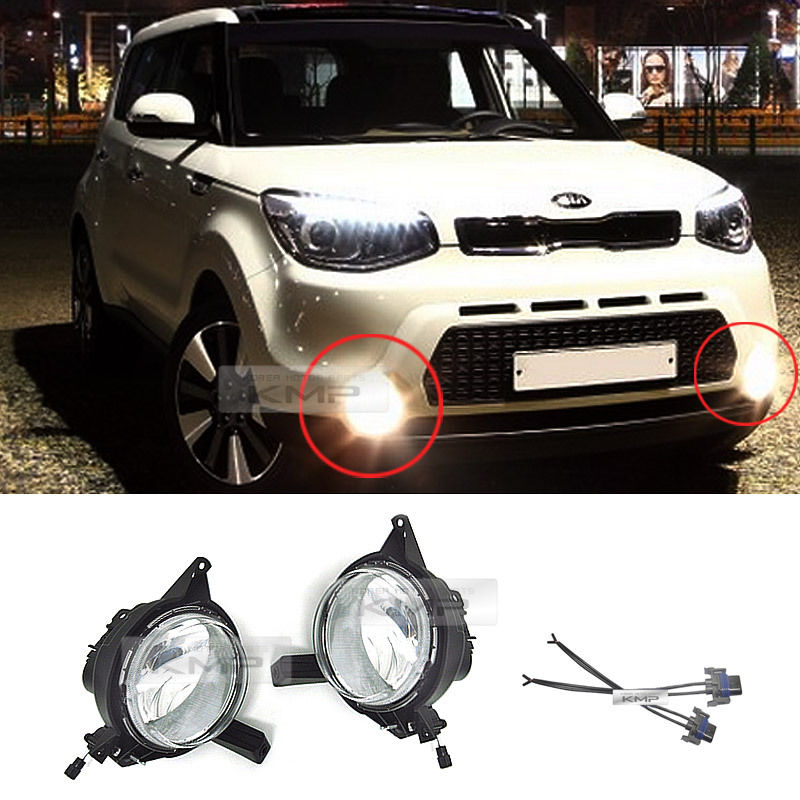 Oem Genuine Parts Fog Light Lamp Embly For Kia 2017 All New Soul