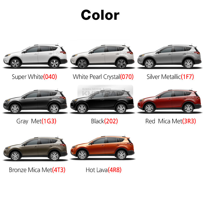 Touch Up Paint Rav  Silver