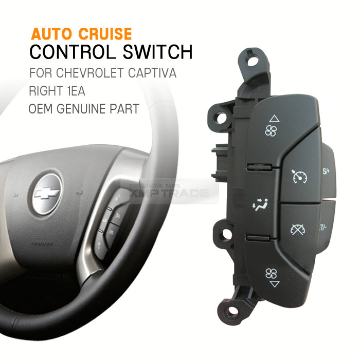 Chevrolet GM OEM Cruze Steering Wheel-Cruise Control Button Switch 39038557