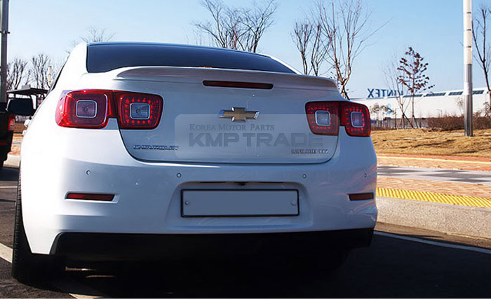 Details About Rear Trunk Lip Spoiler Lid Trim Bodykit Parts Painted For Chevy 2012 2016 Malibu