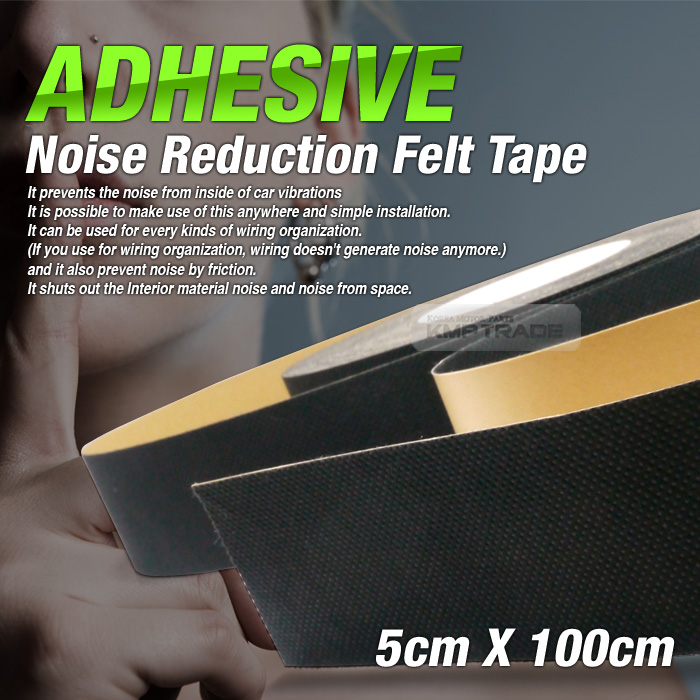 car auto interior adhesive noise reduction felt tape 2inx39in for subaru car ebay. Black Bedroom Furniture Sets. Home Design Ideas