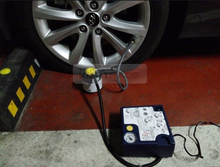 Genuine Parts Tire Mobility Kit Inflator Air Compressor