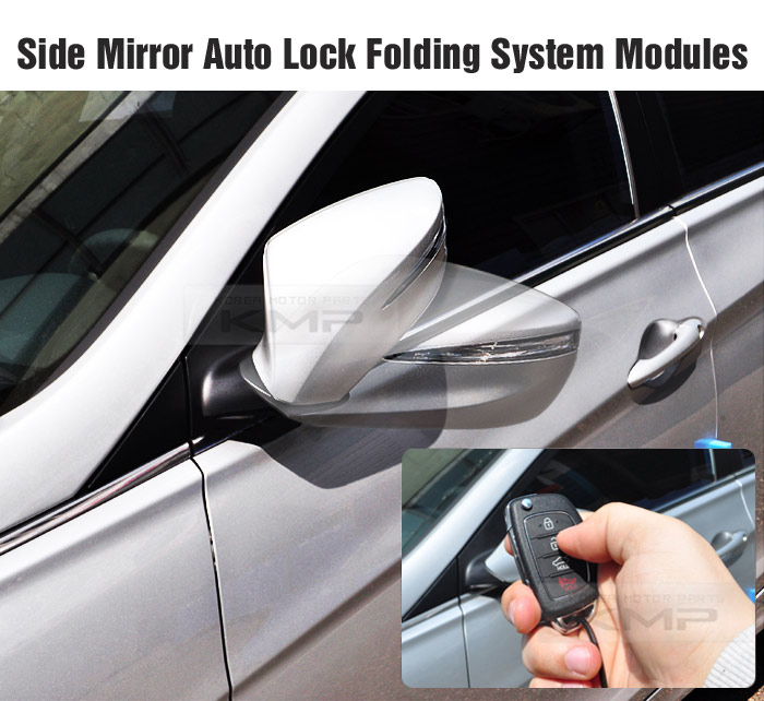 Side Mirror Auto Lock Folding Relay System SH-3 For HYUNDAI 2007-16 Starex iMax