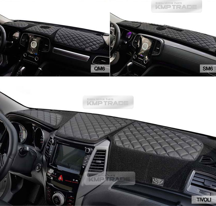 Red Line ATMOMO Car Dashboard Cover Double Anti-Skid Dashboard Mat Center Console Protector Cover Mat Sunshield Cover Mat Compatible with Focus 2013-2018