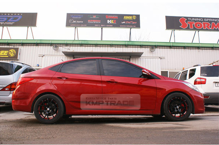 Details about Storm Suspension Lower Coil Down Springs For HYUNDAI 11-16  Accent Solaris Verna