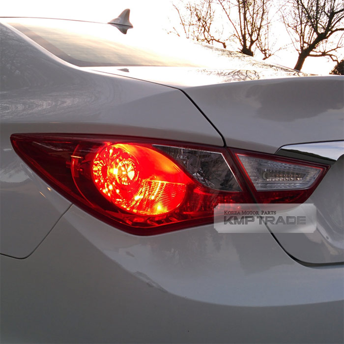 2011 Hyundai Sonata Turbo: Genuine Parts Tail Rear Light Lamp Left Outside For