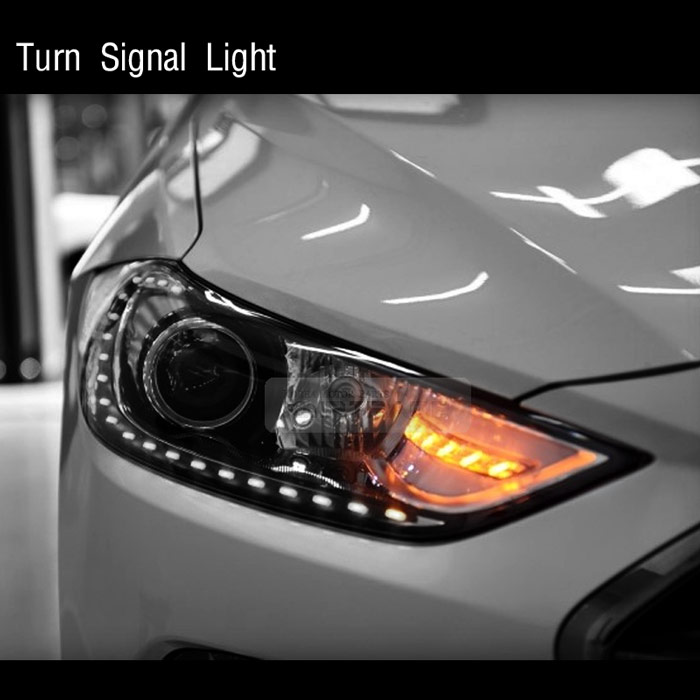 Side Repeater 2Way Turn Signal LED Module With TPC For HYUNDAI 2011-2014 Sonata