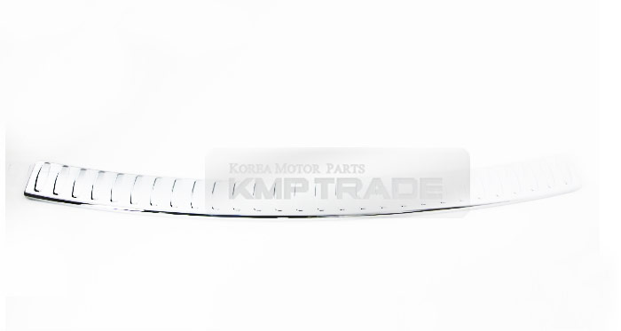 rear wiper cover trunk bumper pad chrome cover trim 9p for