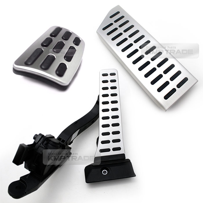 Auto Alloy Pedals Accel Brake Foot Rest OEM Parts for 2014 Forte ...
