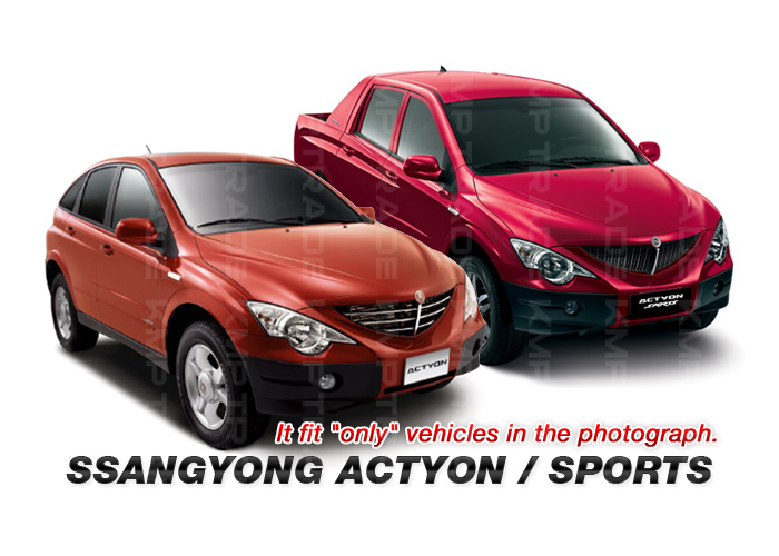 Chrome Side Mirror Cover Molding For Ssangyong 2006 2013 Actyon
